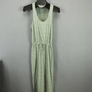 Tresics Maxi Sundress Dress Small Green Knit